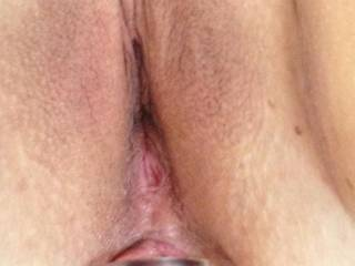 More than awesome pic, luv the view of that sweet little tight ass plugged so good, wanting to feel my cock in your hot pussy at the same time and have us both cumming like crazy!