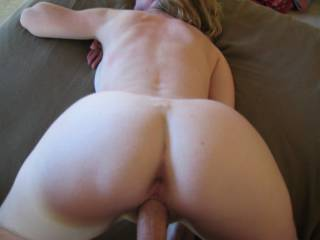 Love to eat her ass while you feed her hungry hole ,may I ?