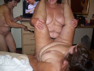 Yes they do like to have fun and I know these girls personally and they sure do know how to have fun with a hard cum filled cock the one lying down getting fuck for sure mmmmmmmmmmm