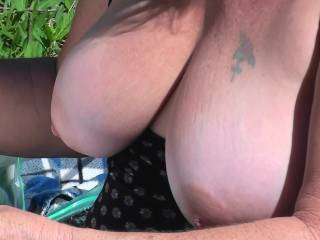 Yes,  there perfect.  I would love to suck on them and then slide my hard cock between them.