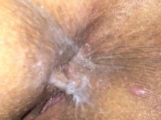 I unloaded loads of cum in her arse after a brutal 1hr non stop fucking. Pure filth.xxxxxxxxx