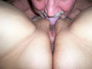 Great display of pussy and butthole