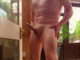 Full frontal erection