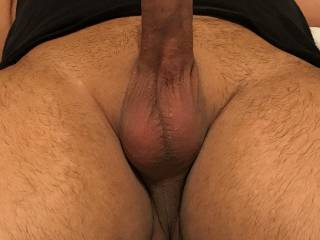 More cock pics as requested.  What do you think about my husband thick cock?