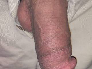 Waiting for my wife\'s pretty little wet pussy for her to wrap around my dick. What do u all think