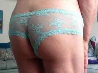 My bum in my new panties