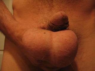 My balls full of cum