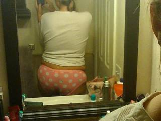 Taking pics of yourself says one thing...Freak! Hot ass