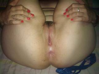 We both love to eat her pussy and ass....then pound it hard...
