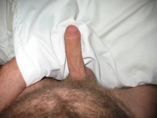 Mmmmm, I'd love to grab hold of that cock...with my hands, mouth and wet pussy.  Delicious, I'd like to know how it tastes.  MILF K