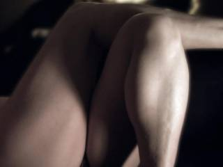 and good on your girlfriend for encouraging you - thats one hell of a sexy picture - such beautiful legs and all thats in between x