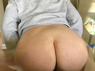 Wife bending over for me