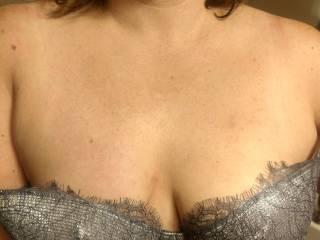 Letting new bra slip a little