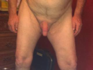 She had me be her slut for so long my cock is raging red!