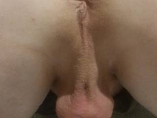 All smooth ready for her to give me a rimjob