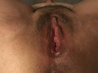 Licking her pussy she is ready for cock