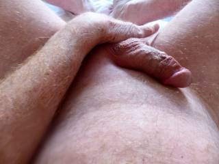 I love to finger my ass like this.  A tongue would feel good...