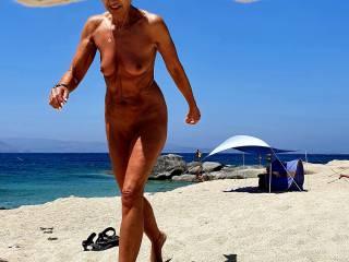 Greek nudist beach...nice ?