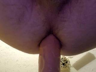 Riding your cock deep, waiting for you to explode your creamy reward inside me