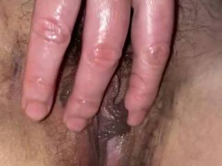 My sexy masseuse rubbing her pussy for me