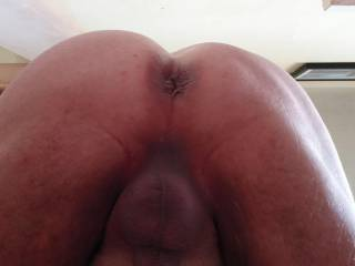 Love that smooth, freshly waxed and moisturised feelings. Would you like to run your hands around my silky smooth ass, balls and cock?