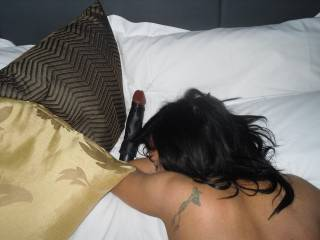 She Love Two Cocks Inside Her! We had To Settle For Me In Her Ass And This In Her Pussy!! Any Body Want to Replace The Dildo?
