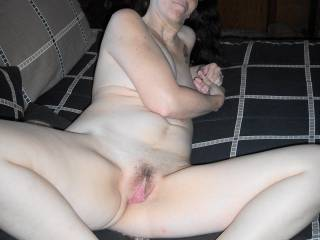 Looks so good . . . I can just imagine my cock filling and stretching your pussy lips . . .