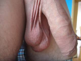 Nice pair of hangers!!! Looks like mine when I get out of the hot tub!!!