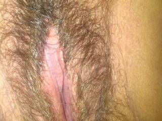 My new girls creamy luscious pussy! Love eating this...especially when it\'s full of cum!
