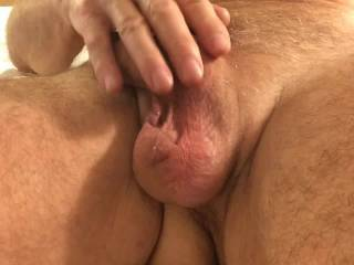 nice cock you have, I would like to be with you and see your wife see and have fun with our cocks?