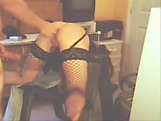 bent over getting ass fucked, and i was supposed to be treating him bad today!? what\'s up with that?