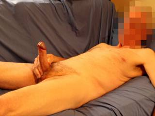 Perhaps now that I have tested my foreskin you could help me test the power of my ejaculation.