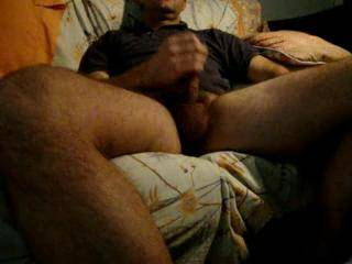 after fucking my ebony lover I was not empty at all and aplied the handjob procedure