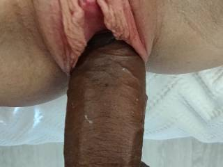 Cock takeover! Her pussy is so delicious.. can you see her juices starting to coat my cock?