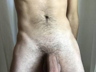 Horny. Thinking about thick juicy asses and big hard cocks.