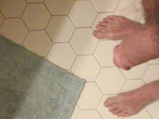 Just a dick and feet photo, requested by a zoig friend.