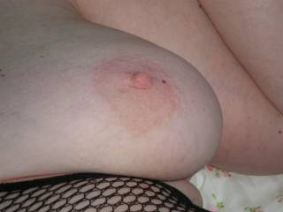 Thank you.. I would love to suck your lovely breast...mmmm