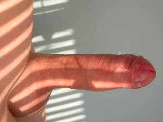 Ohhhhh, your huge shaved dick makes my sex juices flow... slide it deep in my pussy and fuck me nice and slow...