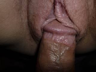 Girlfriend loves a nice cock up her