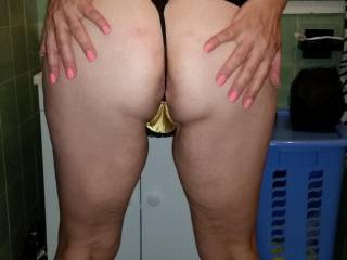 JUST SHOWING OFF MY LITTLE NICKERS , AND FEELING A LITTLE HORNY,  NEED MY ARSE SMACKED.   XX