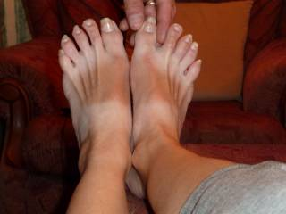 A closer pic for our foot fans ;)