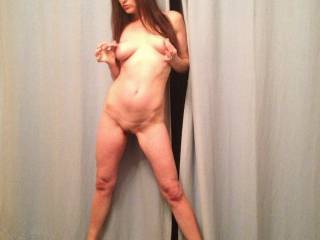 My sexy slut posing naked for you all