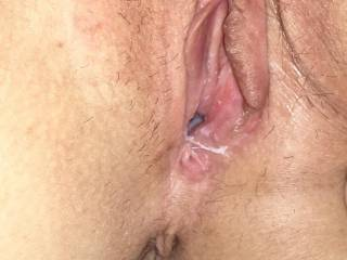 For those requests to see this creamy pussy and asshole