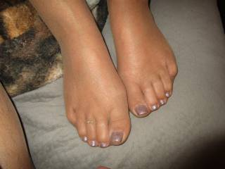 luv these toes in nylon