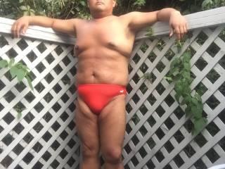 selfie fire island bikini sunbathing