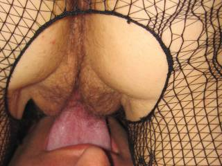I just love licking my wife\'s juicy pussy. especially while she sucks my cock. 69 is my lucky number!