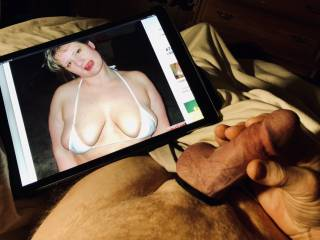 Sexy hollydolly73 has my cock hard and needing a stroking.