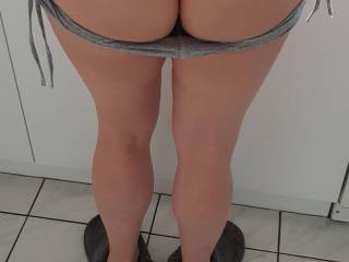 Wife in a thong