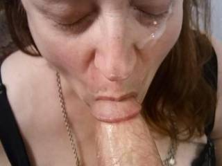 I am a hungry shared wife. Feed me that hard cock of yours in front of my Hubby, and I will swallow every bit of your love juice. Let him stroke his cock as I take care of your swollen manhood.
