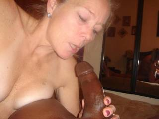 "There is just something so ""Forbidden"" about a petite little white girl, taking a huge, BLACK, COCK, and loving it, and I  DO LOVE IT.  I see these 2 black guys, who are almost obscene in there size,"